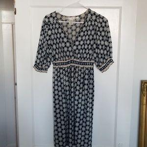 Printed dress, very comfortable!
